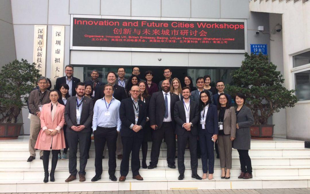 Future Cities Catapult Visit to China