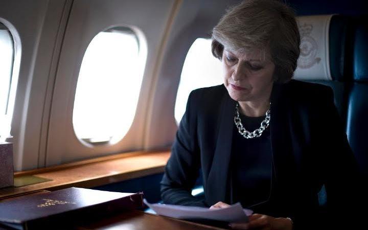 PM Theresa May Trade Delegation to India