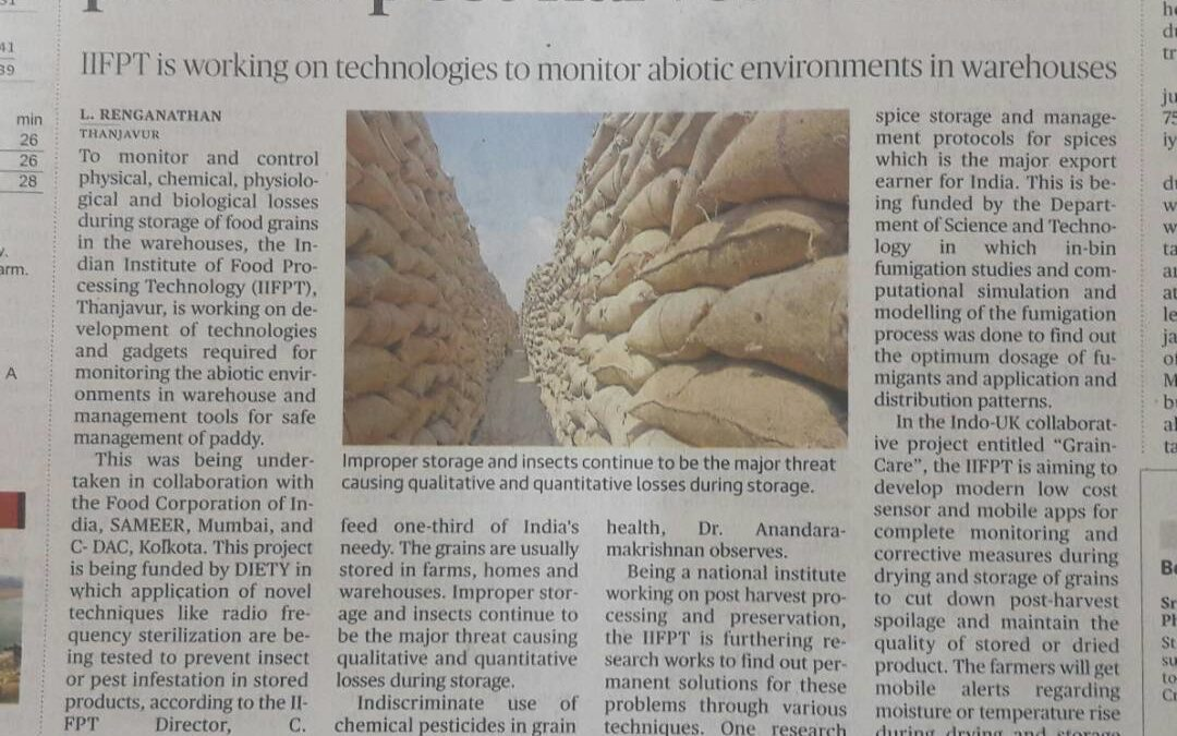 Graincare Featured in Newspaper