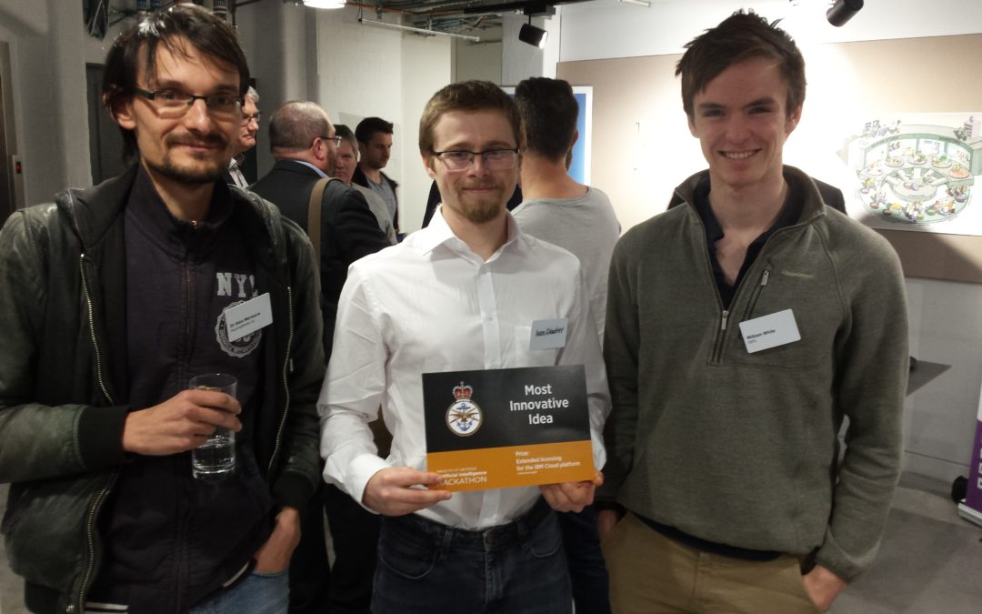 "nquiringminds wins MOD Artificial Intelligence Hackathon ""Enabling Defence Decisions"""