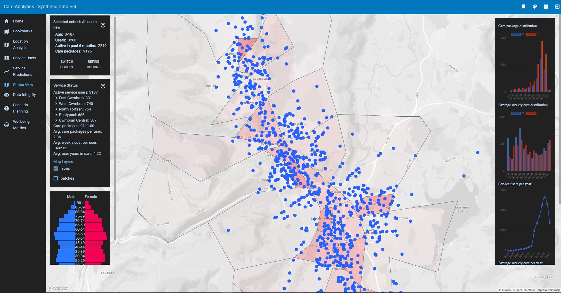 GP Map Application